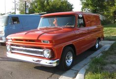 1966 Chevy Panel Truck... Had one got rid of it.. That was a mistake