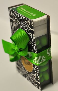 Hand to Paper: TIC TAC LOVE.....& GIFT CARD HOLDERS