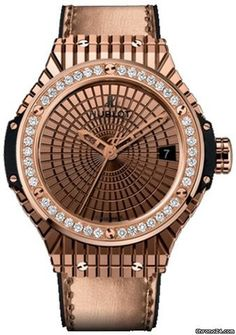 Hublot Gold Cavier Diamonds 41mm