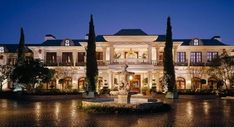 Bel Air Mansion, Dream Mansion, White Mansion, Architecture Classique, American Mansions, Mega Mansions, Luxury Mansions, Belle Villa, Expensive Houses