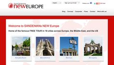 If you& be visiting one of the 18 cities serviced by Sandemans free walking tours, you mustn& miss it. Tours are operated by local guides who work on a donation basis, and there are usually several run at each location everyday. Oh The Places You'll Go, Places To Travel, Travel Destinations, Budget Travel, Travel Tips, Travel Hacks, Tours, Backpacking Europe, Future Travel