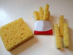 Afbeeldingsresultaat voor broodje knutselen van spons