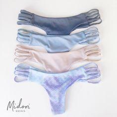 Show a little booty in the Tavarua bottoms by Midori Bikinis! #bikini #cheekybikini