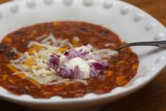 Vegetarian chili for a crowd :: ben and birdy