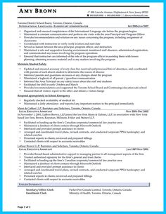 Resume Template For Administrative Position Executive Administrative Assistant Resume Resumecompanion .