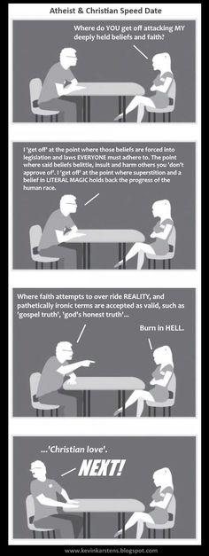 Gospel speed dating
