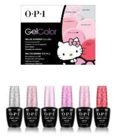 Hello Kitty Gelcolor By Opi 2016