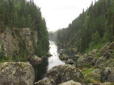 Döda Fallet. Jämtland, Sweden.