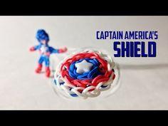 (18) loom bands superheroes - YouTube