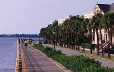 The Battery in Charleston, SC.
