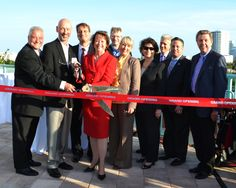 Ribbon Cutting for the opening of Progresso Point.