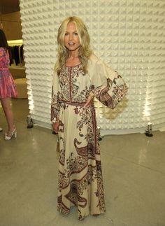 Rachel Zoe Vintage Maxi Dress bohorockvintage.blogspot.nl
