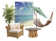 """""""beach house"""" by anastasia-sutawijaya on Polyvore featuring interior, interiors, interior design, home, home decor, interior decorating, Nearly Natural and Pottery Barn"""