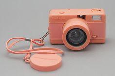 Pink Fisheye Camera