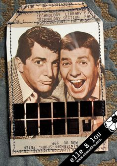 Jerry Lewis and Dean Martin Smart Travel Card Sleeve