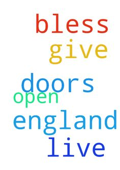Lord bless me to live in England, open all doors, give - Lord bless me to live in England, open all doors, give me all I need for this, in Jesus name amen. Posted at: https://prayerrequest.com/t/2ZQ #pray #prayer #request #prayerrequest