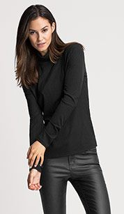 Black turtleneck from C&A