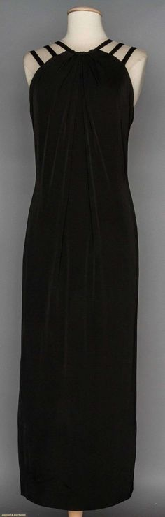 Ceil Chapman Evening Gown, 1960s, Augusta Auctions, November 11, 2015 NYC