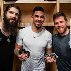 First Hat Trick + 1 for Evander Kane Great addition and fit, to Sharks! Hockey Teams, Hockey Players, Brent Burns, Match Point, San Jose Sharks, Vancouver Canucks, Big Men, My Boys, Nhl