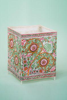 Madhubani Art, Madhubani Painting, Handmade Lampshades, Buy Lamps, Painting Lamp Shades, Lampshade Designs, Art Diary, Leather Art, Indian Home Decor
