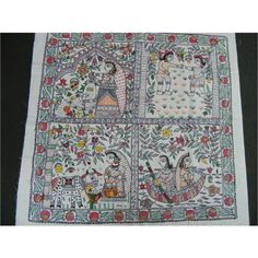 Looking to buy madhubani painting online? Huge collection of madhubani painting available in different colors, patterns, designs & price ranges.Craftsvilla, your own ethnic store Madhubani Paintings Peacock, Madhubani Art, Indian Traditional Paintings, Indian Paintings, Gond Painting, Fabric Painting, Online Painting, Paintings Online, Indian Folk Art