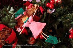 Quecas de Fieltro / Dolls felt Elf pink mod28 http://accesoriosdulcescaramelos.blogspot.com.es/search/label/Mu%C3%B1ecas%20%28Quecas%20de%20Fieltro%29