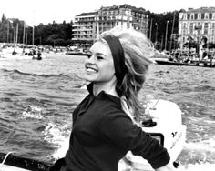 that hair! Brigitte Bardot #vintage #black_and_white #photography #celebrity