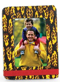 Duck® Brand Duct Tape Flames Frame; Make with ANY Duck® Brand Duct Tape!