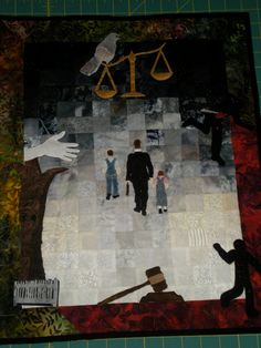 To Kill A Mockingbird Revisited by WeystoneDesigns on Etsy, $695.00