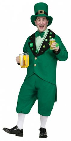 Pub Crawl Leprechaun Costume