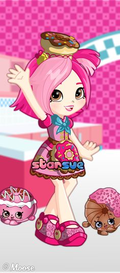 Shopkins Chef Club Donatina Dress Up Game : http://www.starsue.net/game/Shopkins-Chef-Club-Donatina.html Have Fun! ♥