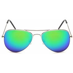 Heather in Silver + Green-sunglasses at GETSUNNIES CA  - Affordable & Trendy Sunglasses - A Canadian Company - FREE SHIPPING TO CANADA ON ALL ORDERS OVER $35(LIMITED TIME)