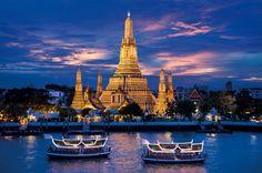 Wat Arun Temple in Bangkok, Thailand