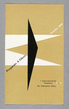 Carlo Vivarelli, Preparato A Glaxo - Ostelin 800, 1946