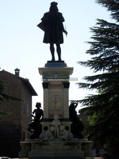 Raphael Monument - Urbino, Italy