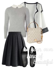 """""""bag"""" by masayuki4499 ❤ liked on Polyvore featuring Chicwish, Dorothy Perkins, MICHAEL Michael Kors, FitFlop and PBteen"""