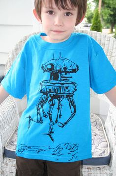 Imperial Probe droid shirt
