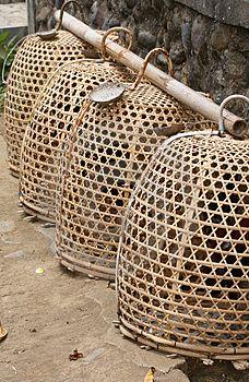 www.villabuddha.com  Bali  these look like Balinese chicken baskets