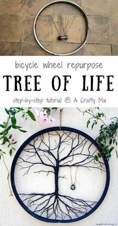 Bicycle Rims, Old Bicycle, Bicycle Wheel, Bicycle Art, Wagon Wheel, Bike Wheels, Bicycle Decor, Bicycle Crafts, Lowrider Bicycle