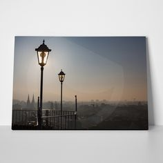 Canvas print OLD LAMP by Sticky!!!