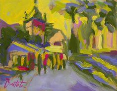 Fiesta Húngara de José Bautista (pintor) por DaWanda.com #bautistapintor