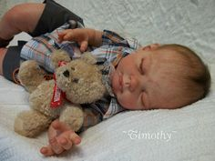 Reborn Baby Boy Timothy- Eric should just get me this...its cheaper than a real kid.