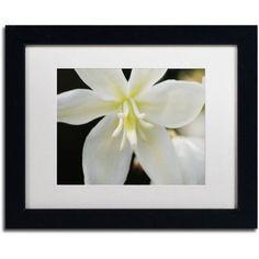 Trademark Fine Art Hope Canvas Art by Monica Mize, White Matte, Black Frame, Size: 11 x 14