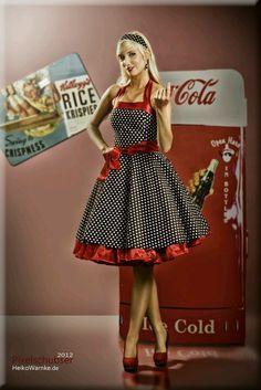 Coca Cola, love the dress