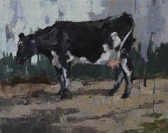 Cow Art, Fine Art Auctions, Fine Art Gallery, Art Tutorials, Moose Art, Kitchen Gadgets, Nifty, Artist