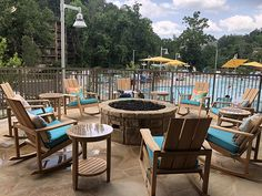 Tropical resort lands in the middle of a mountain river Outdoor Furniture Sets, Outdoor Decor, Pigeon Forge, Great Smoky Mountains, Tropical, Patio, River, Vacation, Home Decor
