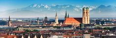 A beautiful landscape view of Munich