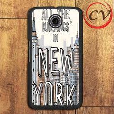 New York City Nexus 5,Nexus 6,Nexus 7 Case