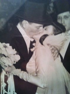 My beautiful parents on their wedding day <3