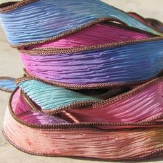 Hey, I found this really awesome Etsy listing at https://www.etsy.com/listing/62137267/eye-candy-silk-ribbon-hand-dyed-necklace